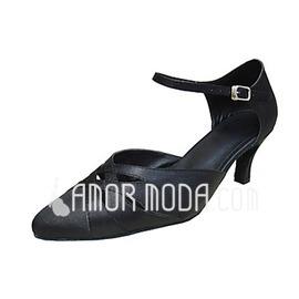 Vrouwen Satijn Hakken Pumps Moderne Dansschoenen (053013390)