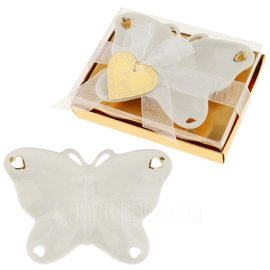 Vlinder Thema Butterfly Keramiek Vlinder & Hart/Creatieve Cadeaus met Linten (051201893)