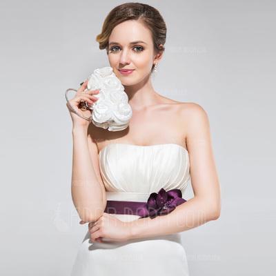 Prächtig Seide mit Blume Handtaschen/Henkeltaschen (012012241)