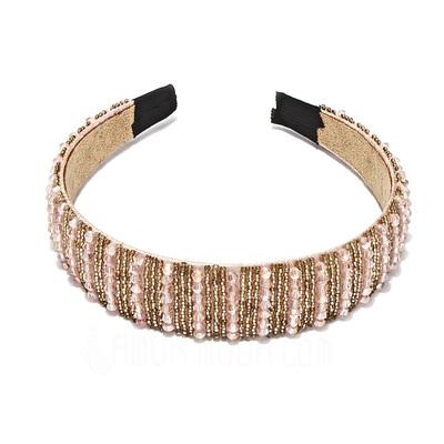 Schöne Ältere Kunststoff-Perlen Stirnbänder (042017501)