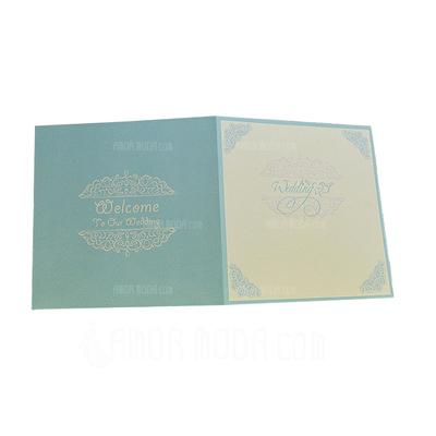 Classic Style Wrap & Pocket Invitation Cards (Satz Von 50) (114051318)