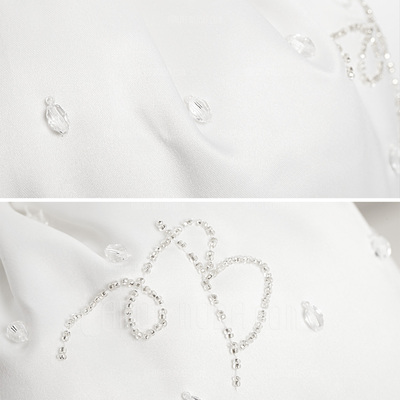 Elegant Satin With Beading/Imitation Pearl Bridal Purse (012003974)