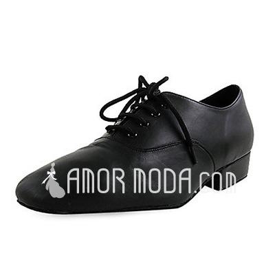 Kinder Echtleder Flache Schuhe Latin Ballsaal Training Charakter Schuhe Tanzschuhe (053012953)