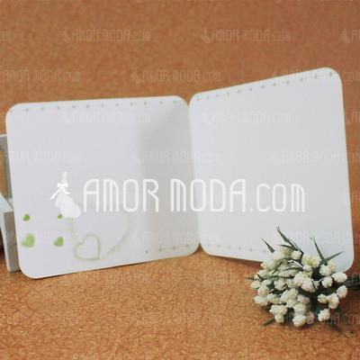 Estilo para el Corazón Side Fold Tarjetas de felicitación (Juego de 10) (114031190)