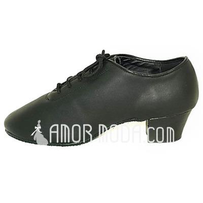 Mannen Echt leer Latijn Ballroom Dansschoenen (053013478)