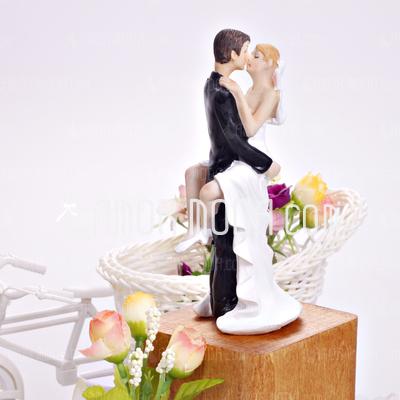 Baciare le coppie Decorazioni per torte (122036177)