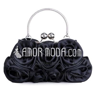 Elegant Silke med Blomma Handledsväskor (012005403)