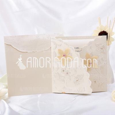 Bloemen Stijl Tri-Fold Invitation Cards (Set van 10) (114032361)