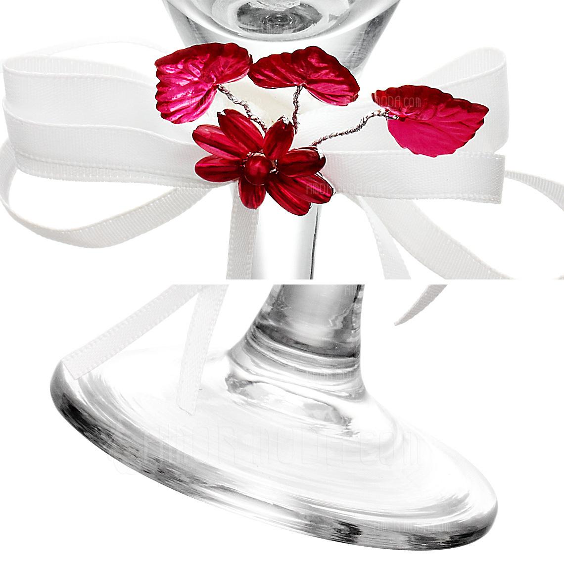 Tema Floral Flautas tostado (Juego De 2) (126032353)