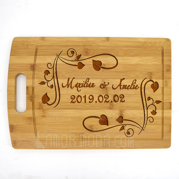 Regalos Del Novio - Personalizado Estilo Clásico Madera Tabla de cortar (Sold in a single piece) (257199515)