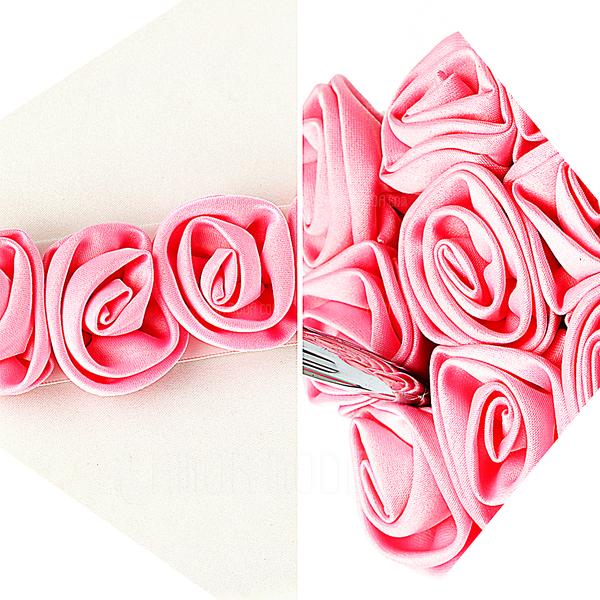 Negrita Red Luxury Rose forrado Rosa Libro de visitas & sistema de la pluma (101018143)