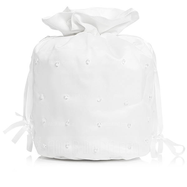 Elegant Satin With Imitation Pearl Bridal Purse (012003973)