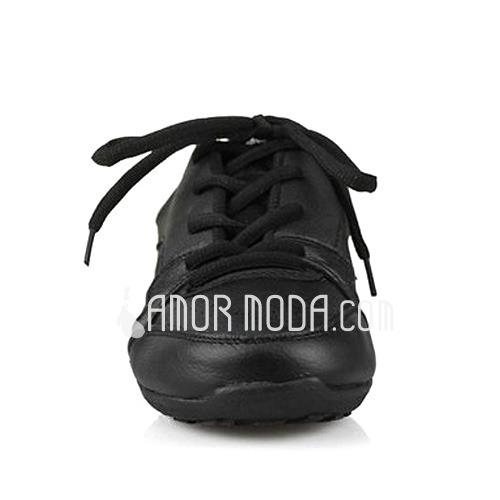Frauen Kunstleder Flache Schuhe Tanzschuhe Training Tanzschuhe (053012959)
