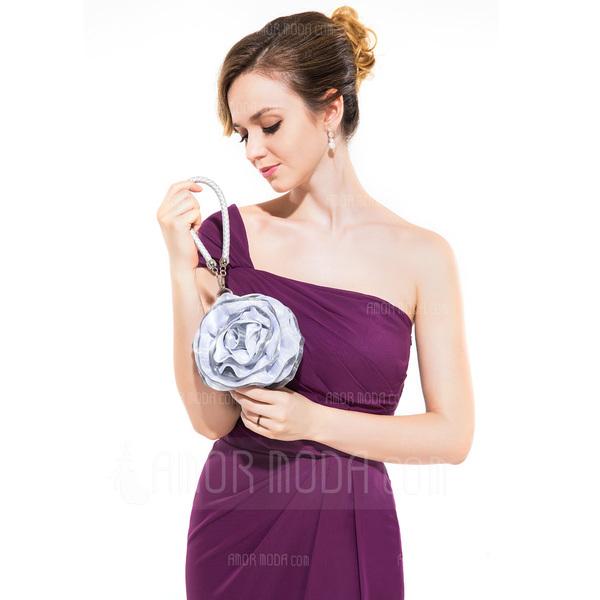 Einzigartig Satin Wristlet Taschen/Braut Geld-Beutel (012025184)
