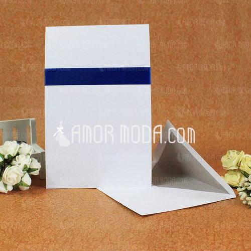 Klassieke Stijl Standaard Kerstkaarten Invitation Cards met Linten (Set van 50) (114030751)