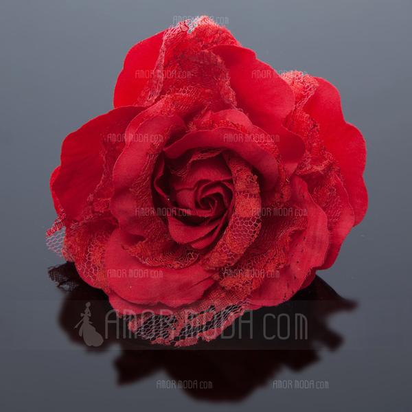 Jolie soie artificielle dentelle fleurs et plumes for Jolies fleurs artificielles