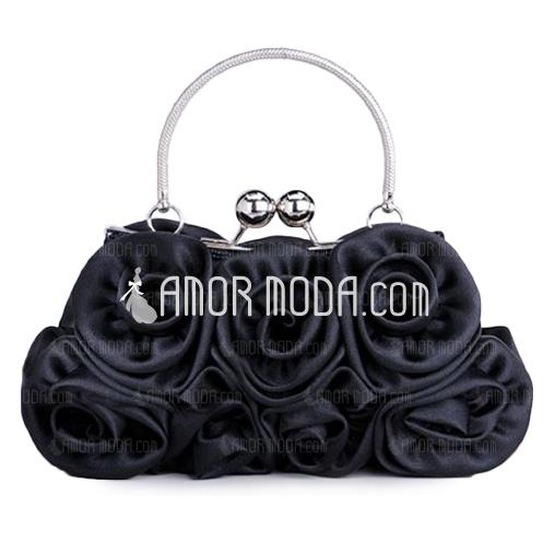 Elegant Seide Wristlet Taschen (012005403)