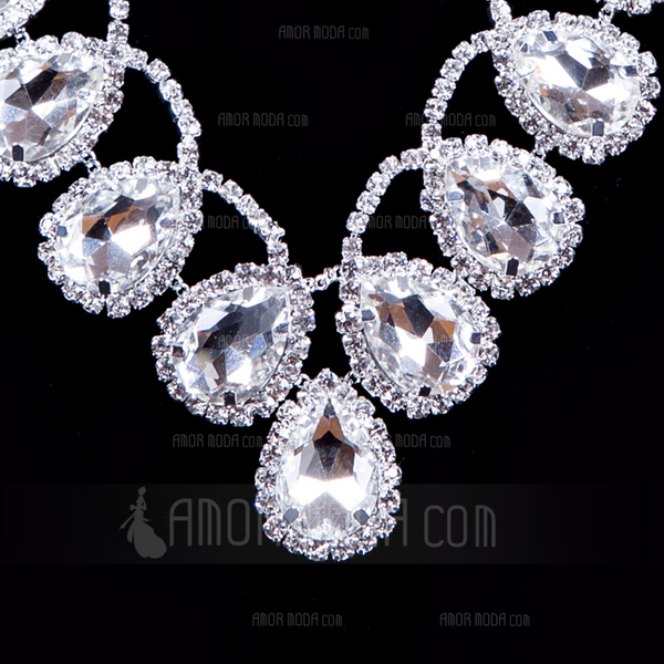 Gorgeous Legering/Strass Damer' Smycken Sets (011012945)