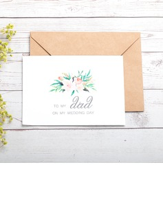 Bride Gifts - Classic Paper Wedding Day Card (255184418)