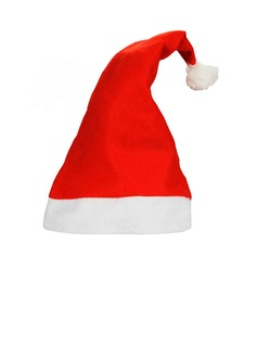 Red Felt Christmas Santa Hats Happy New Yer (Sold in a single piece) (051193809)