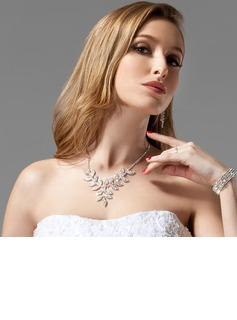 Beautiful With Rhinestone Women's Jewelry Sets (011005325)