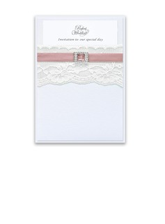 Classic Style Wrap & Pocket Invitation Cards (Set of 10) (118040278)