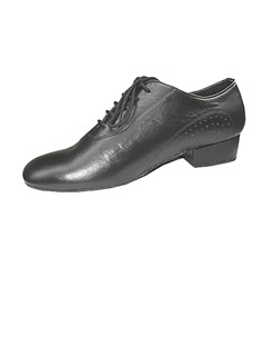 Men's Real Leather Flats Ballroom Practice Dance Shoes (053013145)