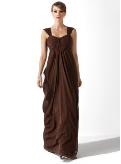 Empire Sweetheart Floor-Length Chiffon Mother of the Bride Dress With Ruffle (008006384)