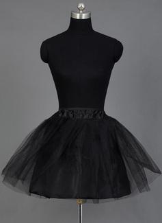 Women Nylon/Tulle Netting Short-length 2 Tiers Petticoats (037039774)
