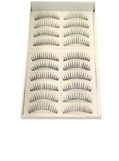 Manual Looking Curved Lashes 07# - 10 Pairs Per Box(046026690)