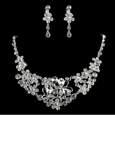 Gorgeous Alloy With Rhinestone Ladies' Jewelry Sets (011006359)