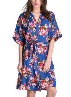 Coton la mariée Demoiselle d'honneur Maman Robes Florales (248197026)