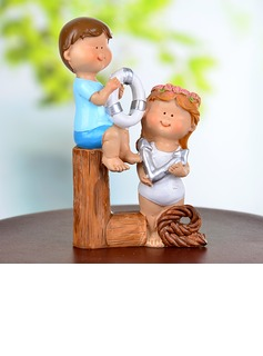 Fun at the Beach Resin Wedding Cake Topper (119037333)