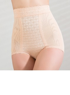 Chinlon with Lace High Waist Shaping Panties (125033458)