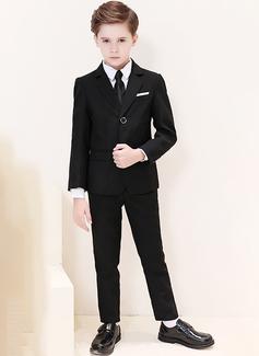 Boys 5 stycken Klassisk Stil Passar till ringbärare /Page Boy Suits med Jacka Skjorta Väst Byxor Slips (287204960)