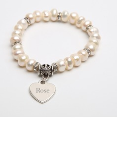 Bride Gifts - Personalized Beautiful Classic Alloy Bracelet (255170032)
