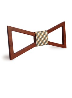 Style Classique Modern Style Style Vintage Bois Bow Tie (200198621)