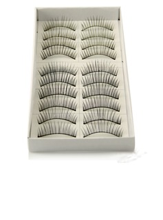 Manual Looking Curved Lashes 118# - 10 Pairs Per Box  (046026693)