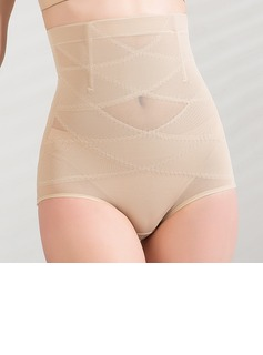 Cotton/Chinlon High Waist Shaping Panties (125033964)