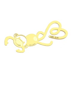 Gold Monkey Zinc Alloy Bookmarks (051016830)