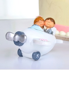Airplane Resin Wedding Cake Topper (119037335)