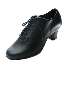 Real Leather Heels Pumps Ballroom Dance Shoes (053012995)