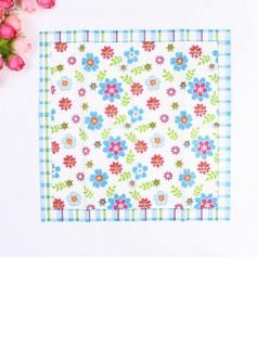 Flower Pattern Dinner Napkins (Set of 50 ) (122039529)