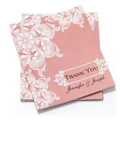 Personalized Flower Design Paper Thank You Cards (Set of 50) (118032196)