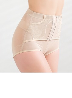 Chinlon Front Busk Closure Shaping Panties (125033456)