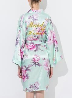 Soie Demoiselle d'honneur Robes Florales Robe à paillettes (248176100)