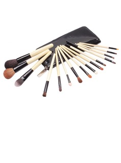 Top Wood Professional Makeup Brush ( 15 Pcs) (046025392)