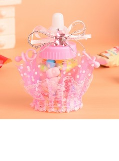 Classic Bottle shaped Favor Bags With Ribbons (Set of 12) (050054591)