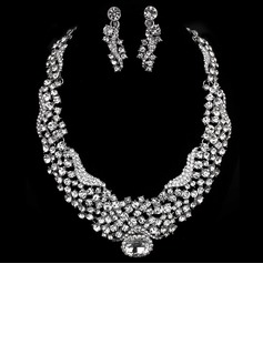 Elegant Alloy With Rhinestone Ladies' Jewelry Sets (011005472)