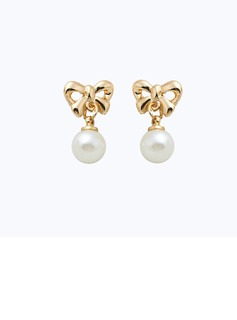 Lovely Alloy Imitation Pearls Ladies' Fashion Earrings (137053622)
